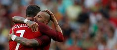 Ronaldo e Quaresma, Portugal rumo ao Euro 2016 em França.