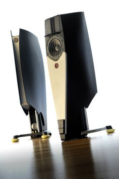 "Custom made High End HiFi loudspeaker ""SAIL"" based on Udo Wohlgemuth´s (ADW) famous concept of ""DUETTA TOP"" with ""ETON"" speakers / Designed by A. Fiol - Germany"
