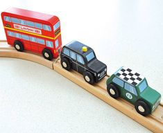 set of three british vehicle toys by jammtoys | notonthehighstreet.com