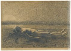 Antoine Bourdelle - L'Amour agonise (1886) Antoine Bourdelle, Expositions, Figure Drawing, Drawings, Sombre, Painting, Html, Angels, Feelings