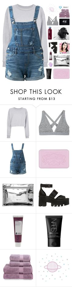 """""""TELLING ME THIS AND TELLING ME THAT"""" by txdal-waves ❤ liked on Polyvore featuring Maison Margiela, T By Alexander Wang, Guild Prime, Monki, Windsor Smith, Korres, NARS Cosmetics, H&M, Christy and Shiseido"""