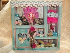 altered shadow box i created Something Beautiful, Alters, Shadow Box