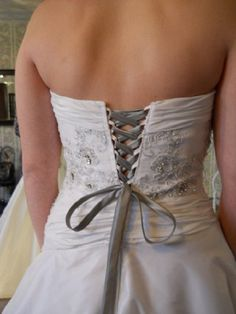 Do you have a wedding dress that is too small to zip up Or is