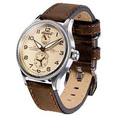 Men's Ingersoll Cobham II  Automatic Watch Brown - Silver