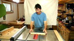 Table saw kickback experiments