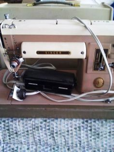 Singer Sewing Machine Model 301A in AJ's Garage Sale in Albuquerque , NM for $50. Sorry if the category is way off....This is a used machine and is great for anyone who collects these or wants to restore to use. Case comes with this one.