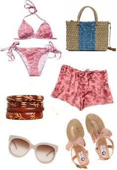 Looks de playa verano 2012 - look calido - looks de playa verano 2012 7658f01ca4b