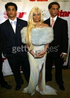 Victoria Gotti and her sons...