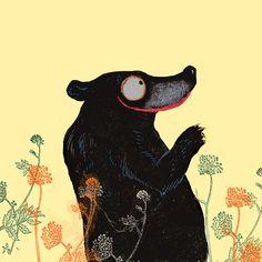 EL OSO QUE NO ESTABA ISBN: 978-84-15208-69-3  /  Autor: Oren Lavie  Ilustrador: Wolf Erlbruch