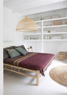sparse bedroom