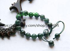 Free Shipping  100 Nice Grade AAA Natural dark Green by jadeGift, $28.99