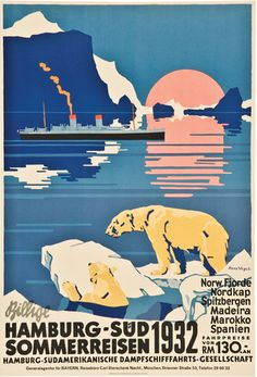Summer cruises, 1932