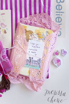 Stationery from Claire at Heart Handmaed UK. Photo by Merissa Revestir, via Flickr