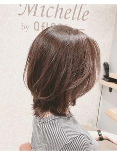 50 代 髪型 外 ハネ