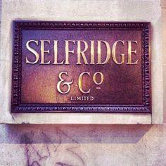 Oxford street shopping at selfridges, London London Shopping, London Travel, Churchill, Mr Selfridge, Selfridges London, Scotch Shrunk, Oxford Street, England And Scotland, London Life