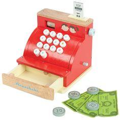 Caja registradora de madera Honeybake - Le Toy Van