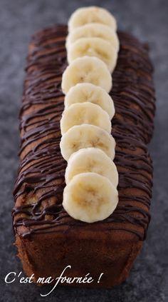 C'est ma fournée !: Le cake à la banane de Christophe Michalak Banana Recipes, Cake Recipes, Chefs, O Rico, Desserts With Biscuits, Brownies, Banana Dessert, Easy Sugar Cookies, Cake & Co