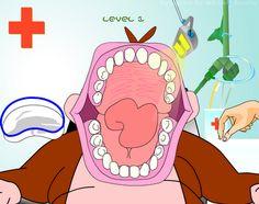 Jogo do Macaco no Dentista | Profissão Dentista