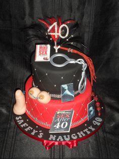 Naughty 40 cake :)