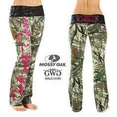 Mossy Oak Camo pants!!