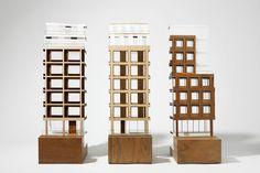 The Copyright Building - Piercy&Company Facade Architecture, Concept Architecture, Building Images, 3d Modelle, Arch Model, Facade Design, Cladding, Scale Models, Brick