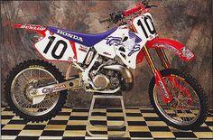 Brian Swink's 1995 Honda of Troy CR250R