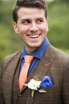 Equestrian Wedding Groom — Angie Myers Photography
