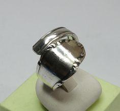 Nostalgischer Besteckring Ring glänzend 19,2 SR586 von Atelier Regina  auf DaWanda.com