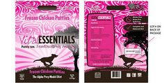 Carnivore Meat Company is voluntarily recalling a single limited lot of Vital Essentials Frozen Chicken Patties Entrée for Dogs. The Federal Food and Drug Administration (FDA) selected and tested...