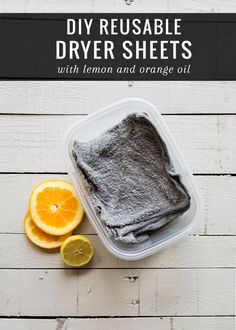 The Simplest Way To Make Your Own Reusable Dryer Sheets | http://helloglow.co/make-your-own-reusable-dryer-sheets/