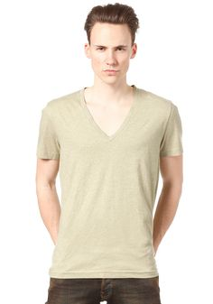 G-STAR Correct Base Htr V T S/S T-Shirt sprng green htr #planetsports