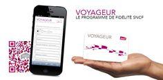 Dans le top des QR codes les plus scannés par la communauté Mobiletag depuis le 7 décembre 2013 : SNCF qui permet aux voyageurs d'adhérer à son programme de fidélité depuis son smartphone via un QR code ! Vous aussi téléchargez l'application et scannez avec votre smartphone : http://8.mobiletag.com/?id=566