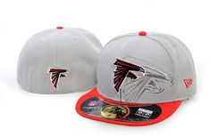 NewEra NFL Team Screening 59FIFTY Cap Atlanta Falcons Fitted Hats 009|only US$8.90