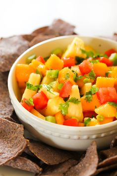Pineapple Mango Salsa