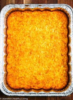 Real Corn Pudding - made with fresh corn and the finest ingredients, this summer side dish is perfect for barbecues and summer entertaining Roasted Honey Garlic Cauliflower, Corn Pudding Recipes, Vegetarian Recipes, Cooking Recipes, Summer Side Dishes, Barbecues, One Pot Meals, Recipe Using, Soul Food