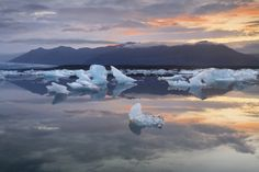 "Jökulsárlón (lit. ""Glacier Lagoon"") is a large glacial lagoon in southeast Iceland, on the borders of Vatnajökull National Park.   Fosshotel Vatnajökull and Fosshotel Skaftafell are located near the lagoon"