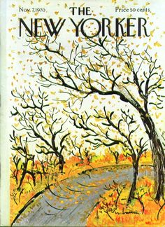 Autumn - The New Yorker cover in 1970