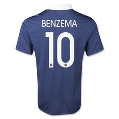 Benzema de Camiseta De Francia de la Seleccion Primera WC2014 c3f505818dfca