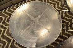 Look at this cool metal centerpiece for any table! Order now on our website http://lifestylescomo.com/