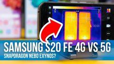 Samsung S20 FE 4G vs 5G - Exynos nebo Snapdragon? Výkon, fotky, přehřívá...