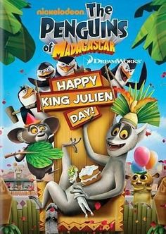 Dreamworks Penguins Of Madagascar: Happy King Julien Day!