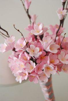 1000 Ideas About Cherry Blossom Bouquet On Pinterest
