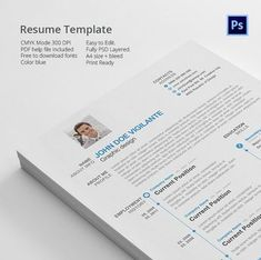 Resume Templates by Themefisher on Creative Market