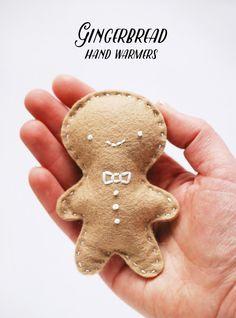 DIY Gingerbread Hand Warmers