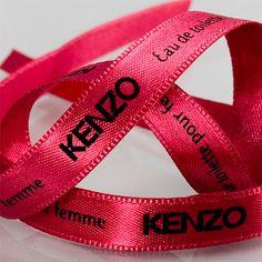#KENZO Ribbons #createam #image #schleifenband #satinband #banddruck #logoband #bandweberei #ribbons #imageribbons #satinribbons #namensbaender #geschenkband #packaging