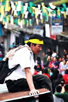 """""""I came from far just to attend this rally for the sake of my #Gorkhaland!"""" I could see people from far flung places and inbetween the rally stoppages, I could see them take their tiny boxes; sharing each others lunch. Damn, this is a struggle from the heart! And it will be attained! Jai #Gorkha! Jai Gorkhaland! Mero Pyaro #Darjeeling!"""