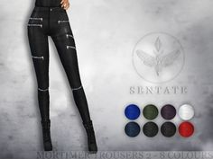A new and updated version of my Mortimer Biker Pants. Super skinny fit.  Found in TSR Category 'Sims 4 Female Everyday'