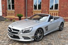 Mercedes-Benz SL Roadster by #BRABUS