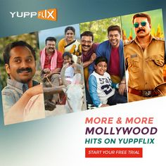 #Mollywood Catalogue has been refreshed. Watch superhit movies of your favorite superstars on #YuppFlix. Available in all countries except India!!  #CatalogueRefresh #YuppFlix #WatchLegally
