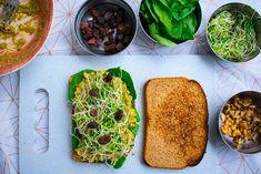 Mashed Chickpeas & Avocado Sandwich Recipe